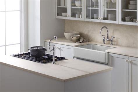 kitchen with apron sink kohler k 6489 0 whitehaven self trimming apron front 6489