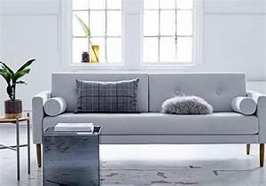 65 idees deco pour accompagner un canape gris elle With tapis d entrée avec canapé warm 2