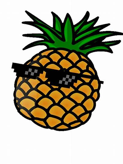 Pineapple Clipart Grey Transparent Cool Pineapples Sunglasses