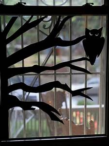 How To Make Halloween Window Silhouettes