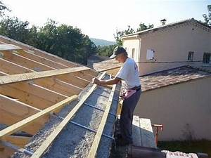 toiture premiere partie youtube With couvrir une terrasse avec des tuiles