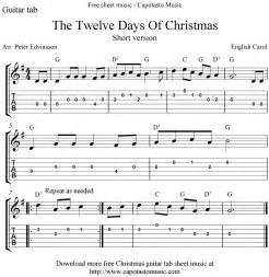 12 Days of Christmas Sheet Music Free