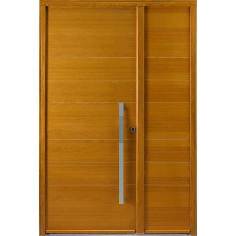 porte dentree pleine en bois garantie  ans