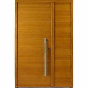 porte d39entree pleine en bois garantie 10 ans With porte de garage enroulable avec porte d entrée pvc lapeyre