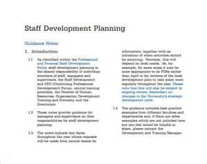 Sample Staffing Plan Template