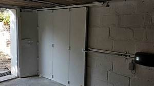Porte De Garage Sectionnelle Latérale : 32 cor nov porte de garage sectionnelle coulissante portillon youtube ~ Melissatoandfro.com Idées de Décoration