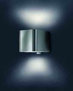 Lampe Mit Bewegungsmelder Außen : hochwertige bewegungsmelder edelstahl au enleuchte ~ Frokenaadalensverden.com Haus und Dekorationen
