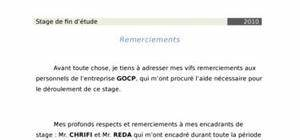 Rapport Du Stage Au Sein Du Bureau Dtude