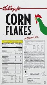 Kellogg S Corn Flakes Food Label | Foodfash.co