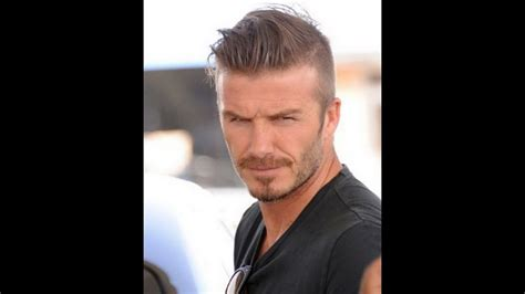 David Beckham Hairstyle From 1992 To Now Hd