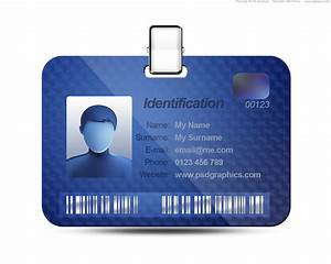 company id card design template With work badges template
