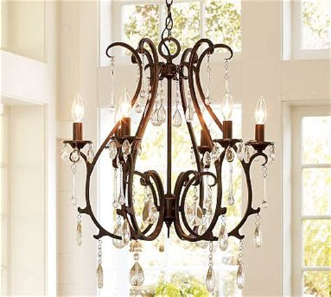 pottery barn celeste chandelier copy cat chic pottery barn celeste chandelier