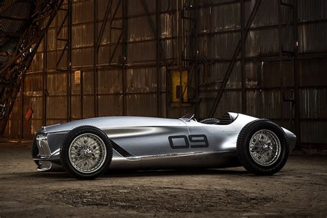 New Cars That Look Retro by Infinity Prototype 9 The Electric Car With A Retro Look