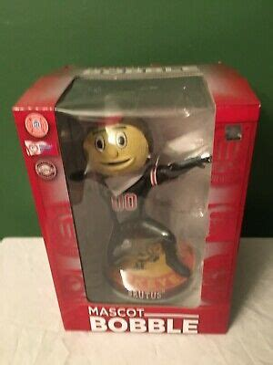 RARE OHIO STATE FOOTBALL BRUTUS BUCKEYE MASCOT BLACKOUT ...
