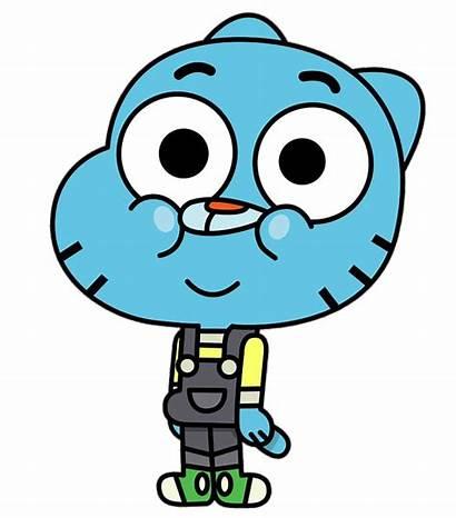 Gumball Darwin Watterson Amazing Cartoon Character Transparent