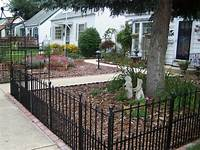 front yard fence ideas Iron Fences on Pinterest | Wrought Iron Fences, Wrought Iron Gates and Iron Garden Gates