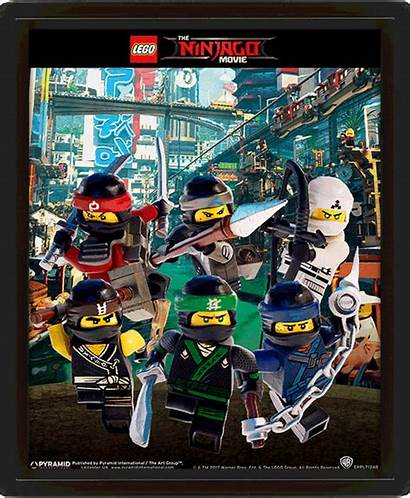 Ninjago Lego Posters 3d Range Lenticular Ninja
