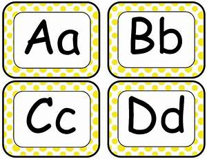 5 best images of word wall printable letters free With alphabet letters with pictures for word wall