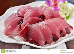 Yellowfin Tuna Sashimi Stock Photo - Image: 56481966