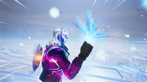 fortnite cube event  reaction  galaxy skin