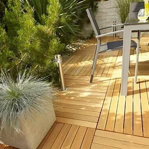 Terrasse En Caillebotis : caillebotis bois pour le sol de votre balcon et terrasse ~ Premium-room.com Idées de Décoration