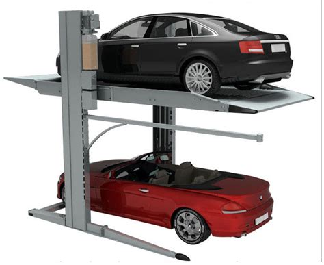 car lift for home garage parking car lift 2 level parking lift for home