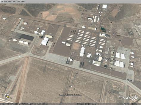 google earth area  ufo
