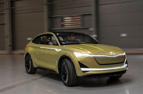 First Drive Skoda Vision E Concept Review Autocar