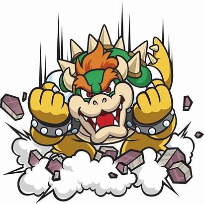 Bowser Mario Disegni Bros Disegno Colorare Luigi