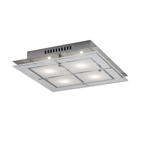 flush mount shop light shop kichler 11 81 in w chrome led flush mount light at