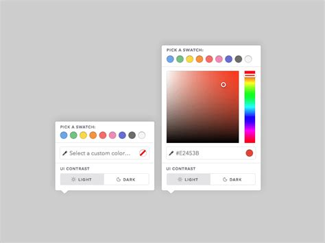 html color picker from image color picker sketch freebie free resource for