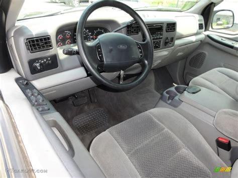 ford supercar interior medium graphite interior 2001 ford f250 super duty xlt
