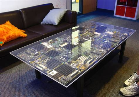 glass table top plastic spacers chris harrison circuit table
