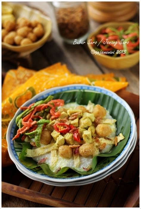 bubur suro jenang suro resep masakan indonesia