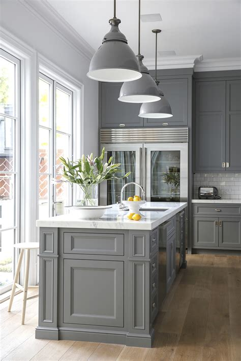 Kitchen Excellent Modern Gray Kitchen Cabinets Ideas