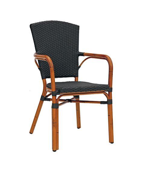 chaises exterieur m0253 fauteuil tressé le mobilier du pro
