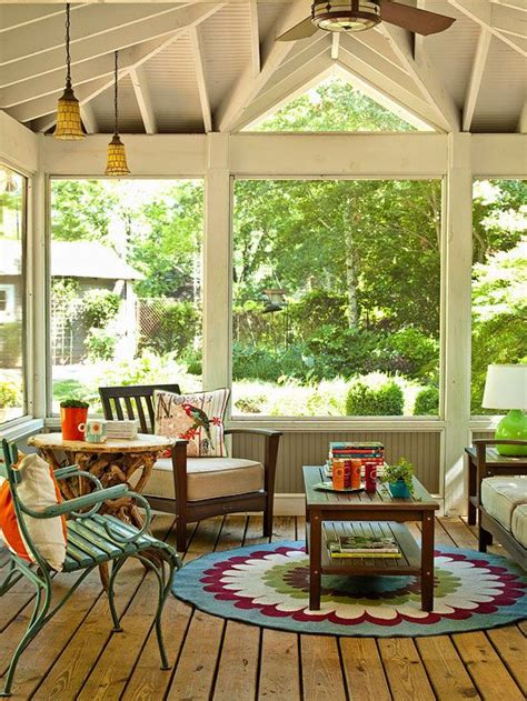 screened in porch decorating ideas and photos 36 comfy and relaxing screened patio and porch design