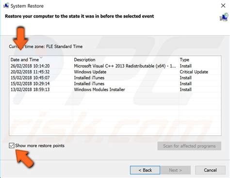 how to fix bad system config info error