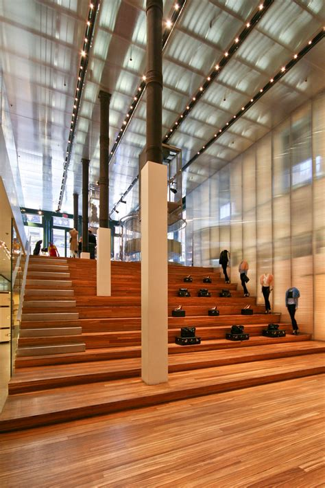 prada koolhaas rem flagship york oma auditorium interior stairs architecture soho flickr retail nyc ny scott seating seats norsworthy commercial