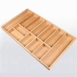 Range-couverts bois pour tiroir de 900 mm de large