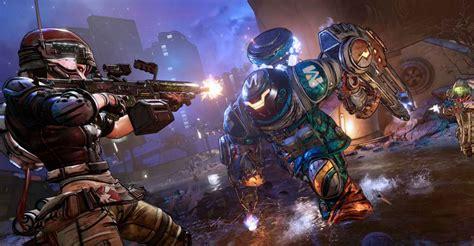 borderlands  gameplay combat  op hub world details