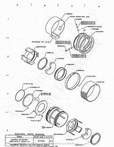 Olympus 180mm F2 0 Exploded Parts Diagram Service Manual