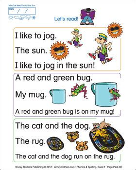 phonics spelling book 2 color textbook simple