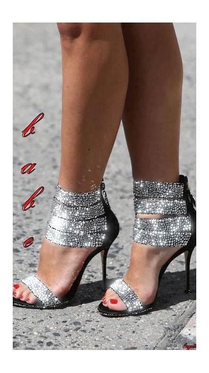 Woman Heels Boots Gifs Schuhe Bling Uploaded