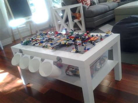 Right click to save picture or tap and hold for seven second if. DIY Lego Table using IKEA LACK coffee table   Lego-zimmer, Ikea lack tisch, Ikea diy