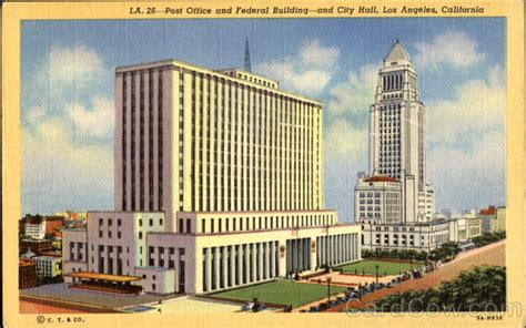 Post Office And Federal Building Los Angeles, Ca