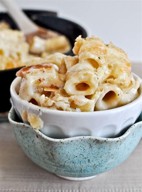 rigatoni cheese four cheese baked skillet rigatoni