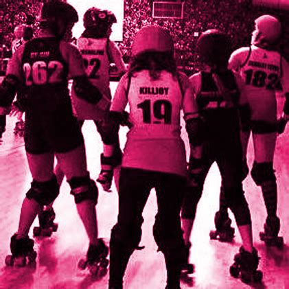 join  south side roller derby womens banked track