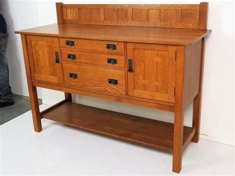 Stickley Sideboard For Sale by Stickley Oak Sideboard For Sale At 1stdibs
