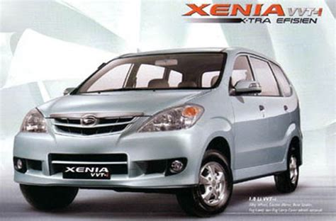 Modifikasi Xenia All New by New Xenia 2012 Gambar Modifikasi Spesifikasi Mobil